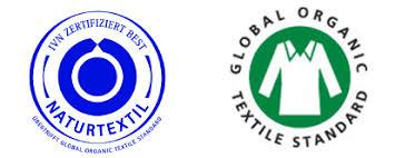 logo naturtextil et logo GOTS