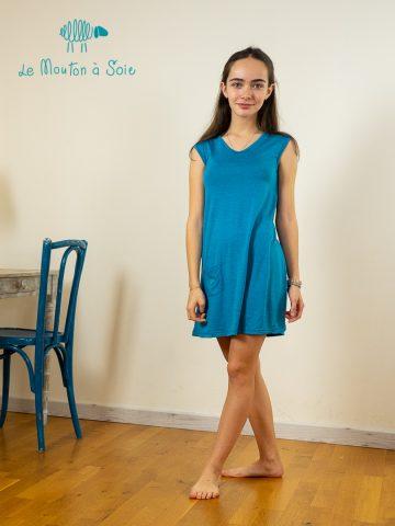 Robe évolutive enfant Apoche bleue