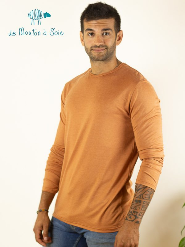 tee-shirt manches longues homme