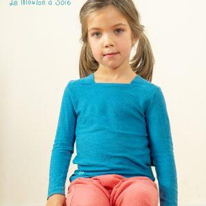 t-shirt manches longues enfant